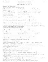 Các dạng bài tập vật lý lớp 12 thi TN và DH