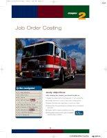 Nguyên lý kế toán - Kế toán Mỹ - Job Order Costing