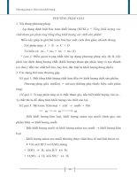 phương pháp bảo toàn khối lượng trong hoá học