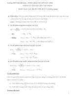 bài tập kim loại tác dụng với axit