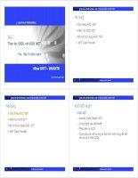 Bài 7: Thiết kê và lập trình web với ASP.NET - Thao tác CSDL với ADO.NET