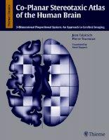 co - planar stereotaxic atlas of the human brain  -  j. talairach, p. tournoux (thieme)