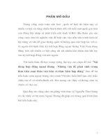 LUẬN văn nội dung hợp đồng ngoại thương –những vấn đề phát sinh trong thực tiễn soạn thảo văn bản và thực hiện hợp đồng