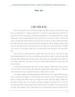 Phân Tích Môi Trường Quản Lý Của VAE - Công Ty TNHH Kiểm Toán và Định Giá Việt Nam