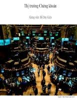 slide thị trường chứng khoán đại học thương mại chương 1