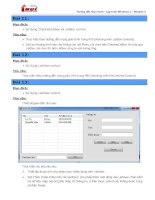 Hướng dẫn thực hành - Lập trình Windows 1 - Module 5 Bài 11