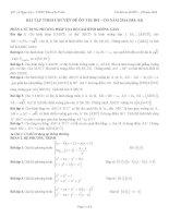 bài tập theo chuyên đề ôn thi đh môn toán phần 3