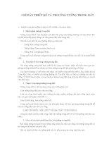 CHỈ DẨN THIẾT KẾ VÀ THI CÔNG TƯỜNG TRONG ĐẤT