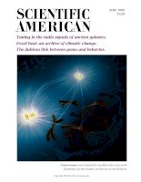 scientific american   -  1993 06  -  tuning in the radio signals of ancient galaxies