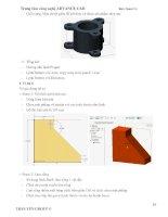Tài liệu thiết kế sản phẩm cơ bản trên creo parametric 2