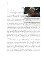 Nghiên cứu một số đặc điểm sinh thái, phân bố và tình trạng của loài trầm hương (aquilaria crassna pierre ex lecomte) tại khu bảo tồn thiên nhiên thần sa  phượng hoàng huyện võ nhai tỉnh thái nguyên