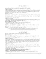 25 đề thi thử sử chọn lọc hay