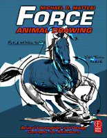 force [electronic resource] animal drawing ; animal locomotion and design concepts for animators