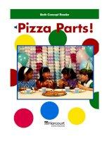 Math Concept Reader MCR g3 pizza parts!