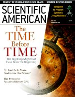 scientific american   -  2004 05  -  the time before time