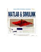 MATLAB SIMULINK  cho kỹ sư điều khiển tự động (nguyenphungquang) [ebook]