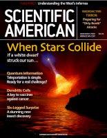 scientific american   -  2002 11  -  when stars collide