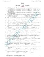 Trắc nghiệm tổng hợp Vật lý 12