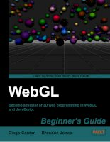 webgl beginner's guide [electronic resource] become a master of 3d web programming in webgl and javascript