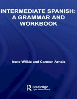 intermediate spanish a grammar and workbook