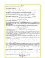 Đề thi thử đại học môn toán năm 2014 lần 3