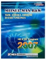 bảng tra máy tàu thủy mitsui-man b&w