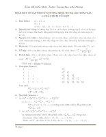 Tóm tắt kiến thức toán trung học phổ thông bồi dưỡng ôn thi