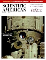 scientific american   -  1998 05  -  six months in space