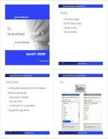Bài 4: Thiết kê và lập trình web với ASP.NET - Làm việc với Control