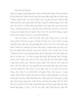 Bài thuyết minh: Đền Quán Thánh – Chùa Trấn Quốc – Phủ Tây Hồ