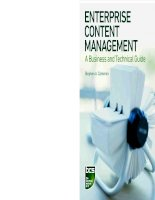 enterprise content management [electronic resource] a business and technical guide