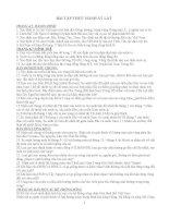 Một số câu hỏi thực hành Atlat