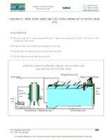 chương 2 tính toán thiết kế các công trình xử lý nươc thải phần 2