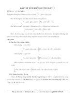 Bài tập tích phân đường loại 2