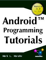 The busy coder guide to android programming tutorials (2011)
