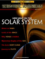 scientific american  special edition  -  2003 vol 13 no3  -  new light on the solar system