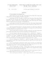 quy hoạch xây dựng nông thôn mới xã Cù Vân, huyện Đại từ, tỉnh Thái Nguyên