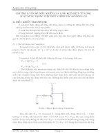 luận văn điều khiển các linh kiện điện tử để điều khiển tốc độ động cơ