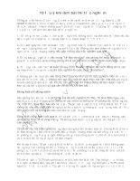 10 lưu ý khi làm bài thi trắc nghiệm