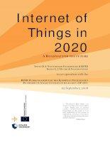 Internet of things in 2020 EC EPoSS workshop report 2008 v3
