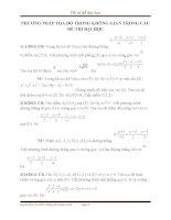 PHƯƠNG PHÁP tọa độ TRONG KHÔNG GIAN TRONG các đề THI đại học1