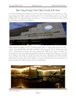 bảo tàng chứng tích chiến tranh việt nam