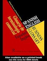 spanish-english business glossary