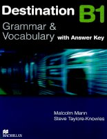MACMILLAN 2008 destination b1 grammar and vocabulary