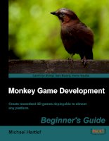 monkey game development beginner's guide [electronic resource] create monetized 2d games deployable to almost any platform