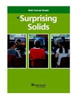 Math Concept Reader MCR g3 surprising solids