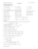 Tuyển tập luyện thi đại học lượng giác