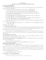 LÝ THUYẾT VÀ BÀI TẬP CƠ BẢN HÌNH GIẢI TÍCH 12