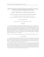 Phân hủy phẩm màu Reactive Blue 182 bằng kĩ thuật Fenton dị thể với tro bay biến tính. Phần 1: Ảnh hưởng của điều kiện biến tính