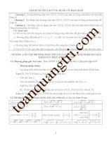 Tìm giá trị lớn nhất và nhỏ nhất của hàm số bằng đạo hàm